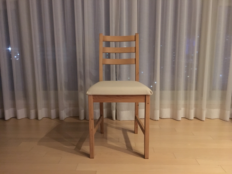 이케아, LERHAMN 의자(1개)