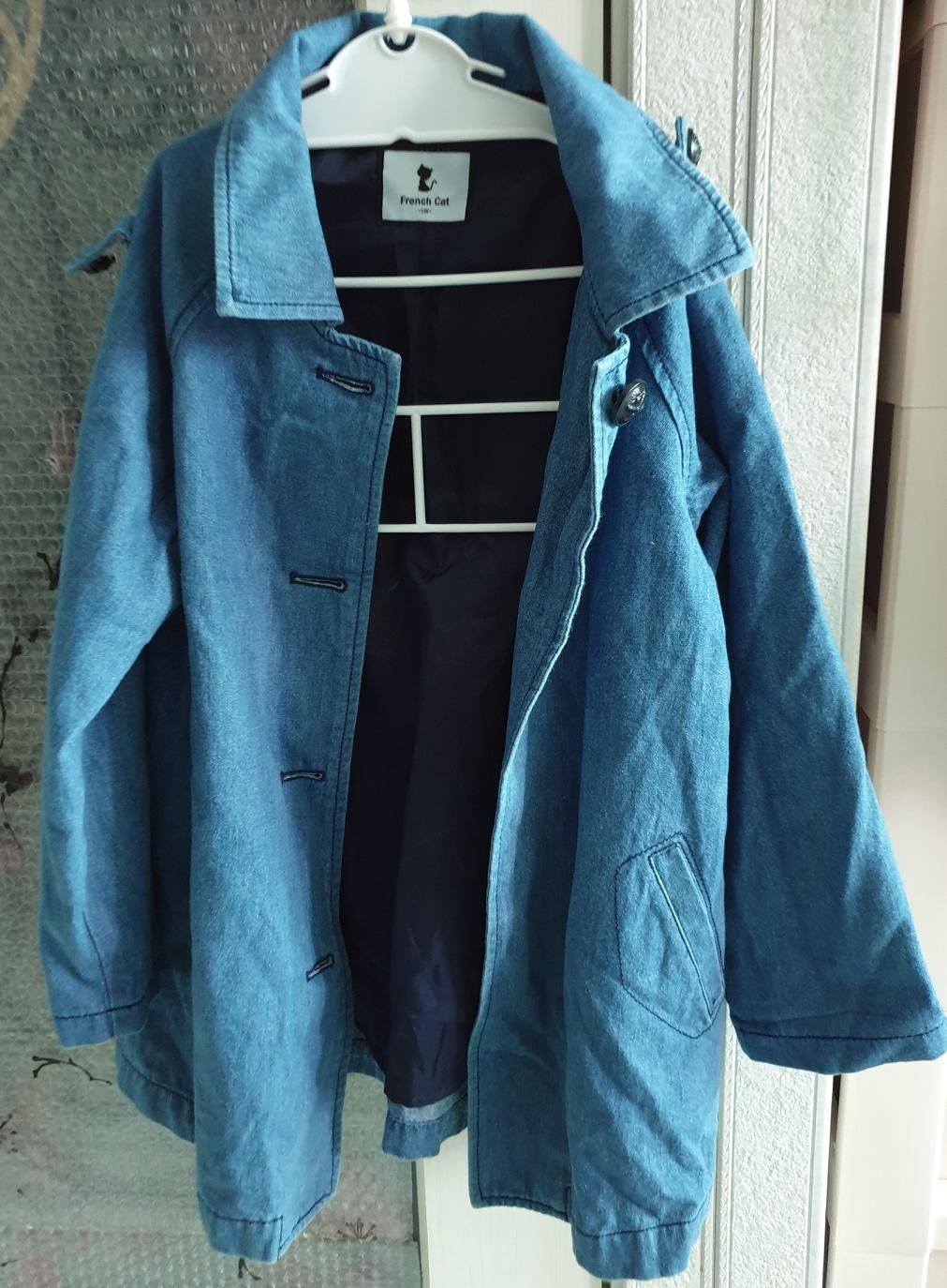 가격내림)프랜치캣 청 코트