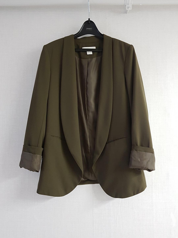 H&M 카키 자켓