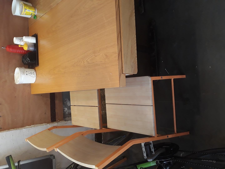 식탁테이블 의자 4개