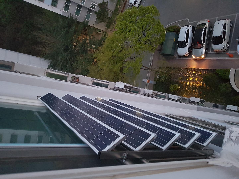 소형 태양열발전기 미니 태양광발전기 가정용 240와트