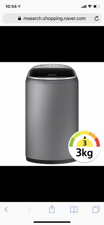 삼성 아기세탁기 WA30F1K6QSA 팝니다