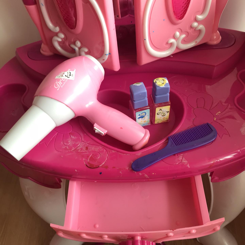 유아화장대 여아화장대 멜로디화장대 장난감드라이기