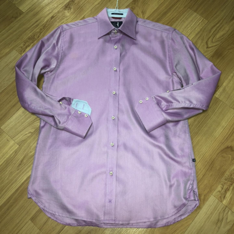 [100] 힐피거 컬렉션 더블버튼 셔츠