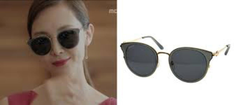 새제품 페라가모 채시라 착용 선글라스