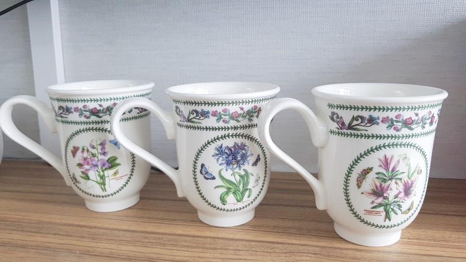 포트메리온 컵 새제품 판매
