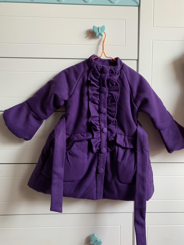 완전 새것 바이올렛 코트
