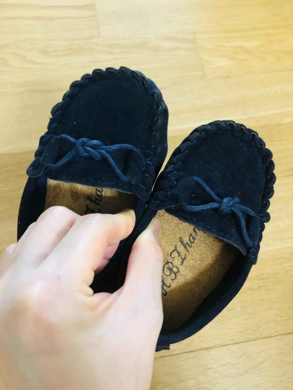 (가격내림)토즈 스타일 네이비 아기 로퍼/아기 정장 구두(신발)-130사이즈