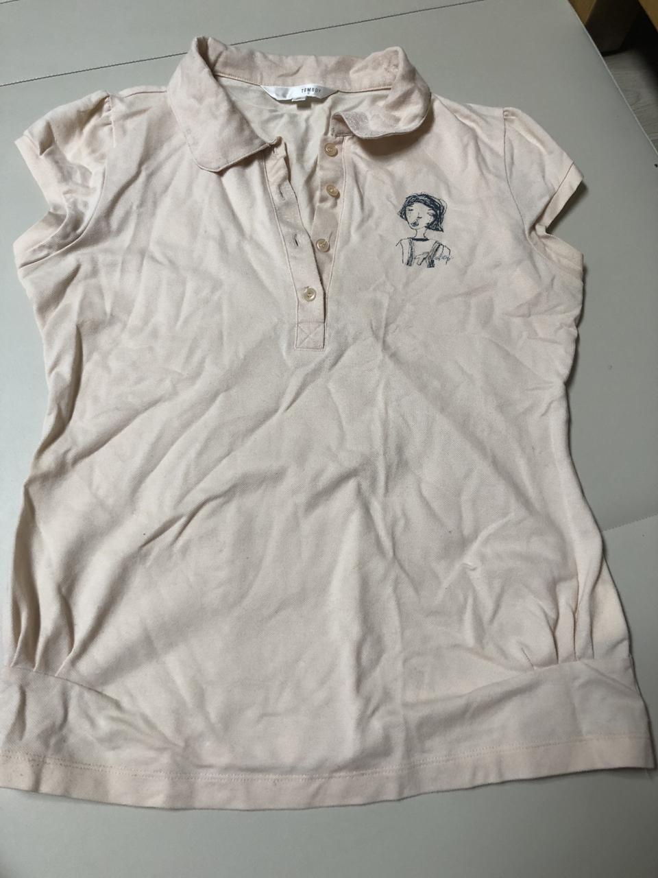톰보이 여성 반팔 티셔츠 85