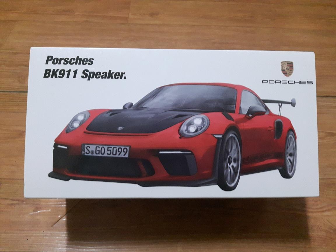 포르쉐 디자인 911 스피커 블루투스 스피커 (미사용 새상품)