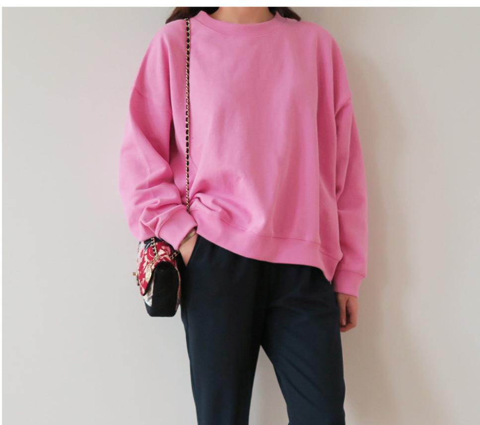 (새상품) (최종가) 핑크 맨투맨 티셔츠