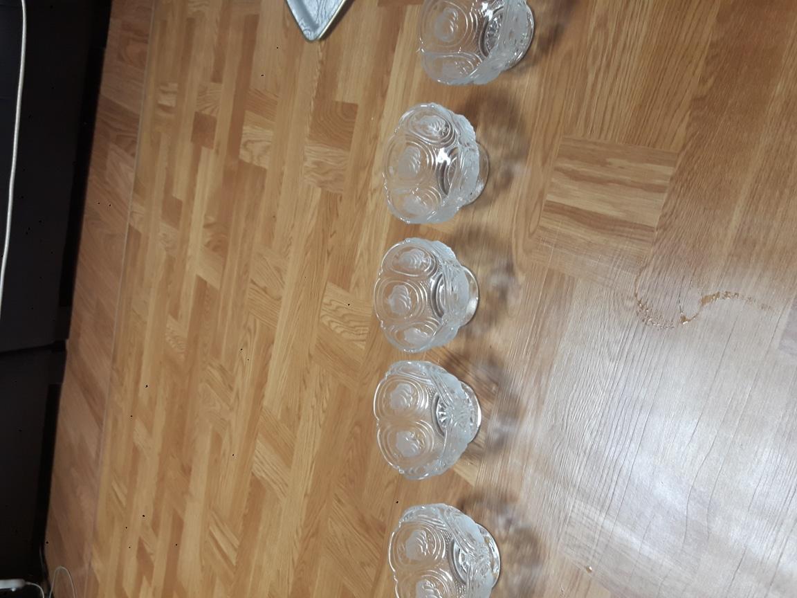 장미 화채그릇