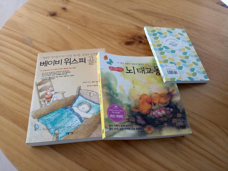 임산부 태교책  3권