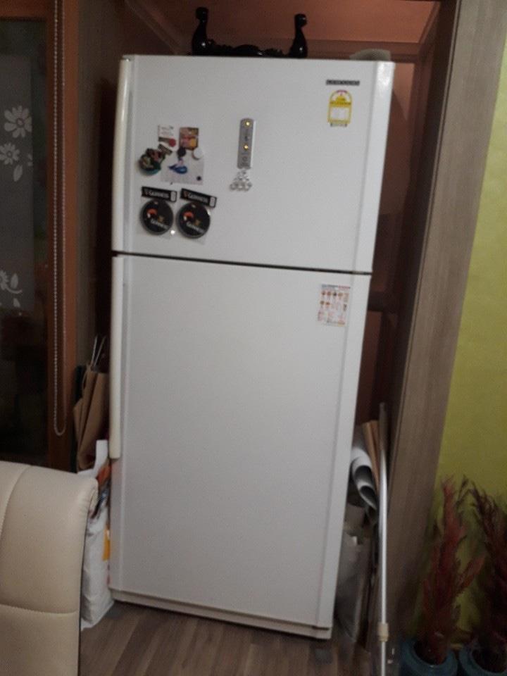 투도어 냉장고.