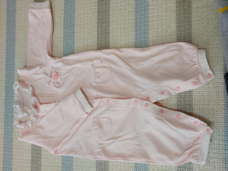 4~6개월아기 2벌 우주복