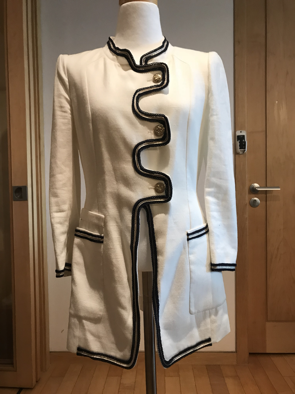 가격인하-KL흰색 자켓