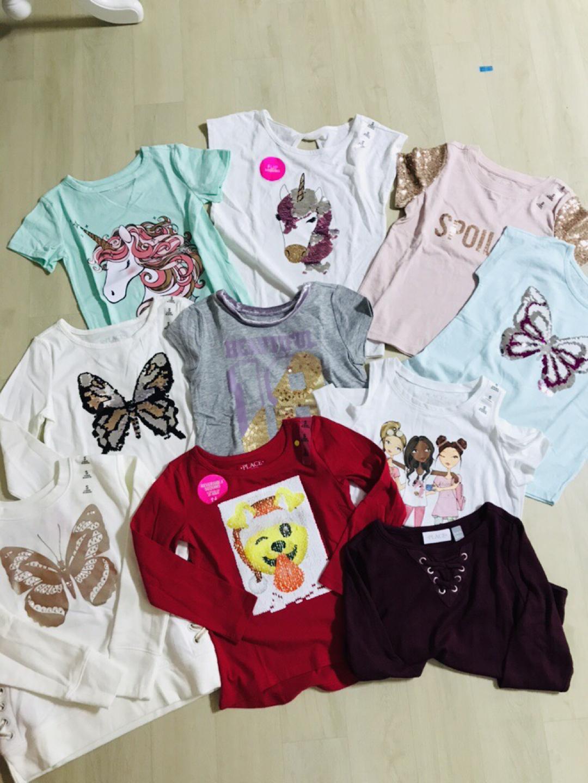 여아티셔츠/여아봄옷/5-6세여아옷