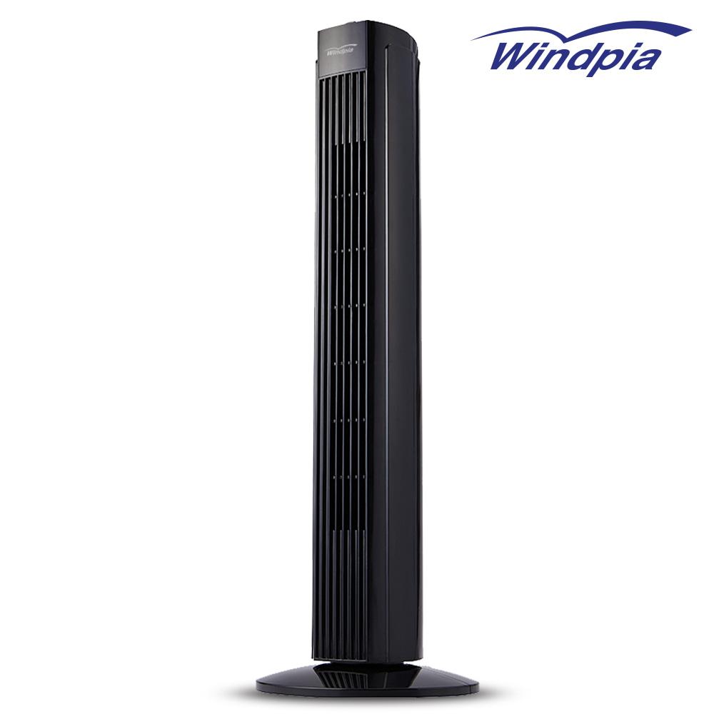 (새제품)퓨어블랙 타워팬 타워선풍기 대형선풍기 타위형선풍기