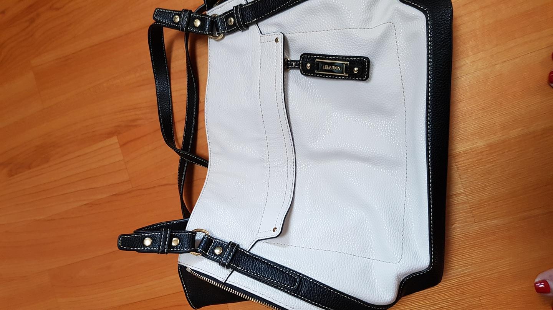 나인웨스트흰색가방(가격내렸어요)