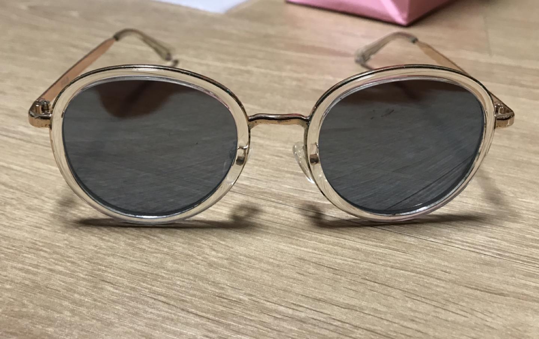 필라 하늘색 미러 선글라스
