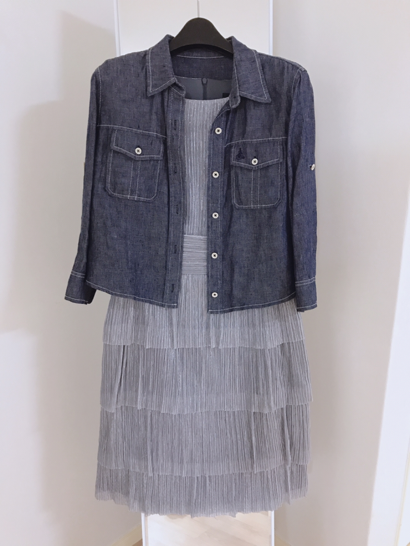 connected apparel 캉캉원피스 (새옷)