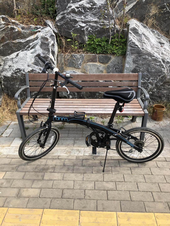 접이식 자전거 판매합니다!
