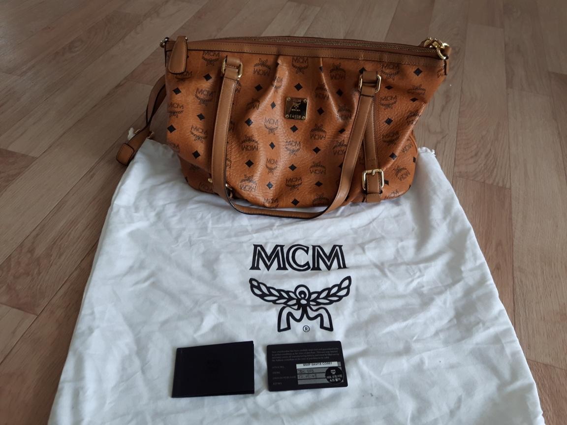정품mcm 가방