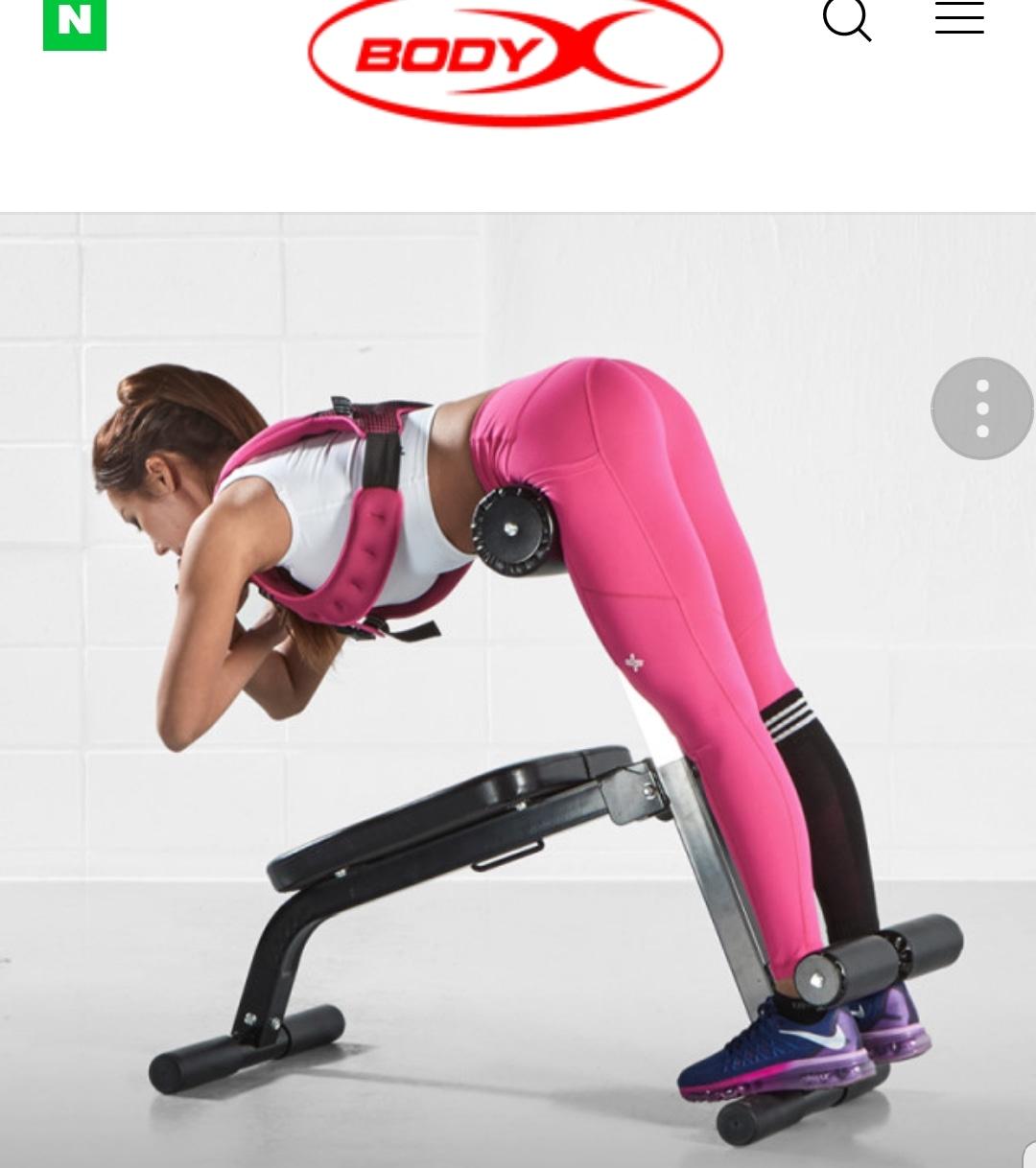 코어운동기구 - 백익스텐션 싯업프레스 등 허리운동 복근운동