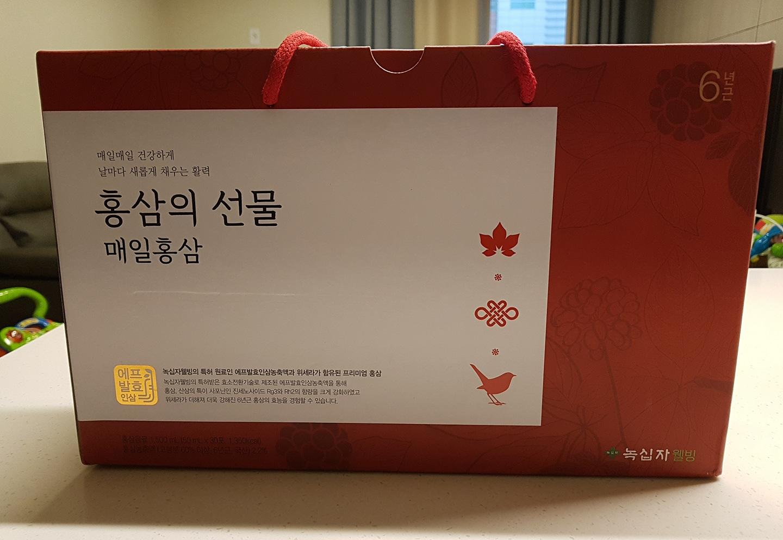 홍삼의선물 매일홍삼 50ml*30포