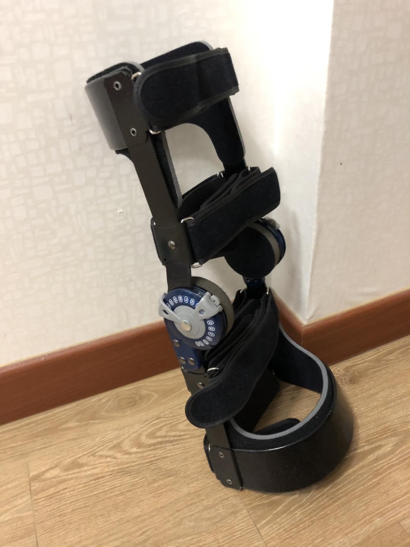 무릎보호기(무릎각도조절)