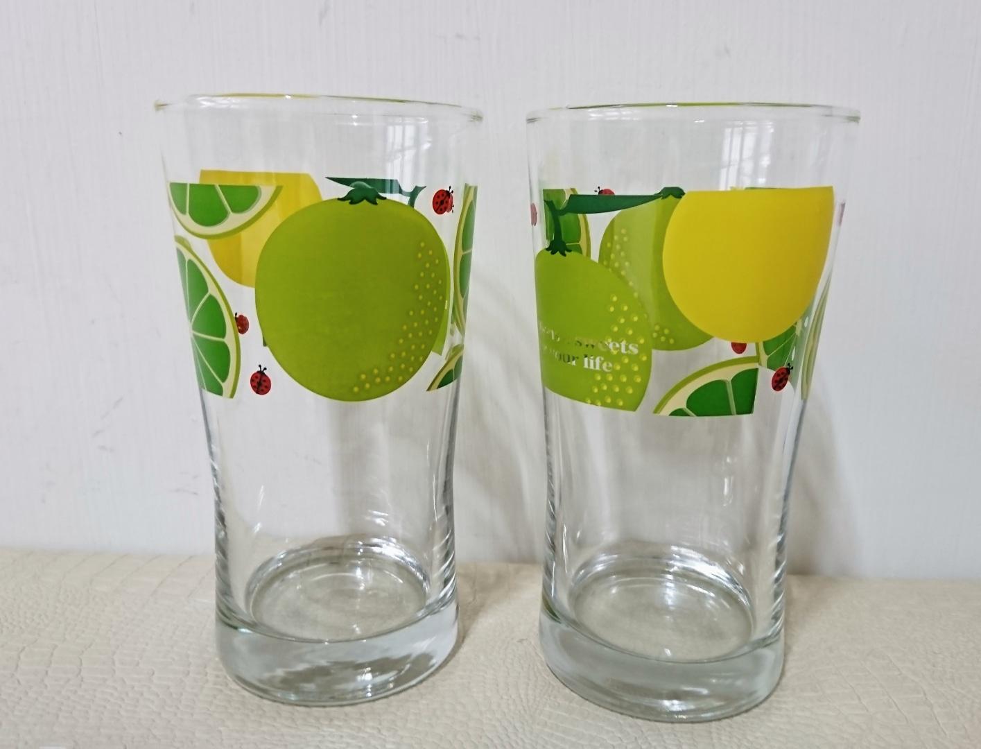 유리컵 (2개 가격)