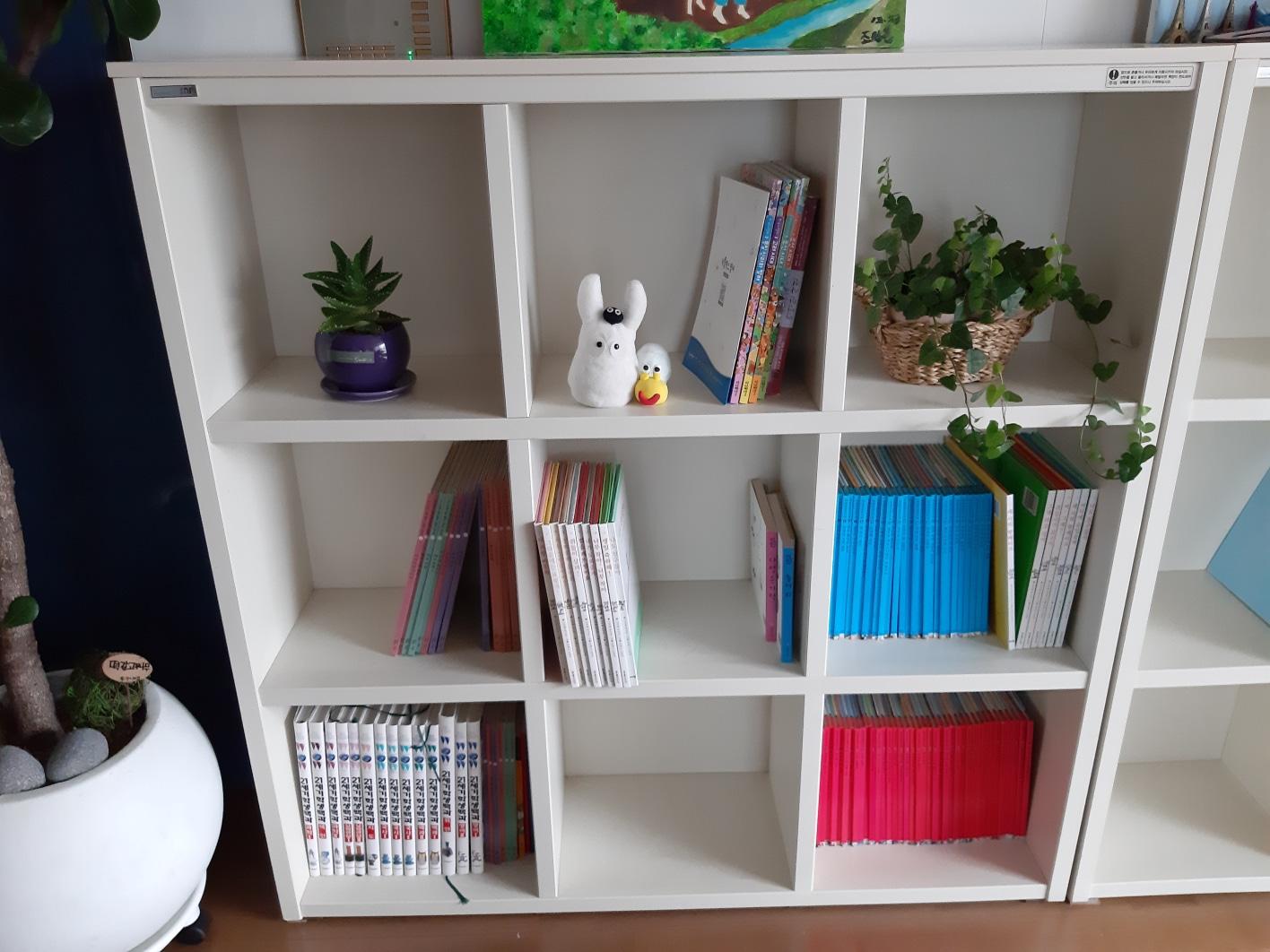 3책장,옷장 활용 한샘제품
