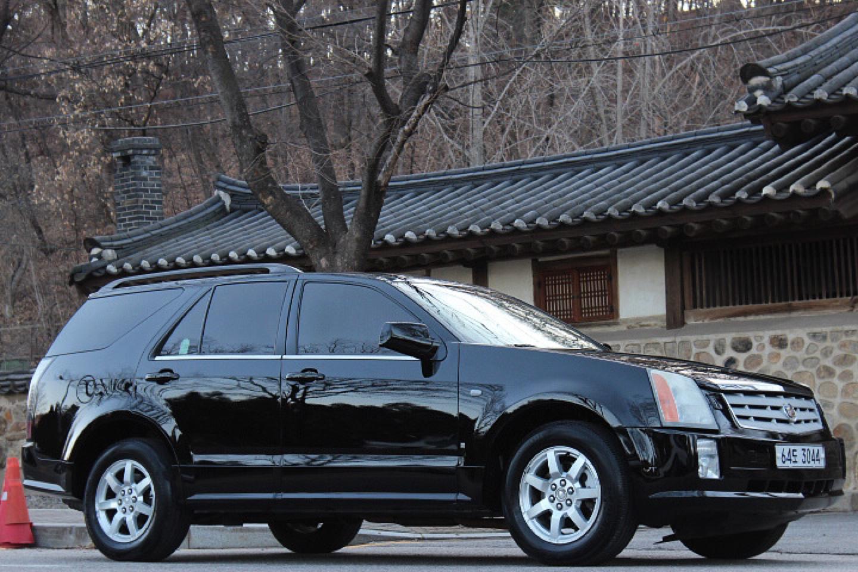 [개인 직거래] 캐딜락 SRX 3.6 검정색 무사고 차량 320 만원 판매 합니다 .