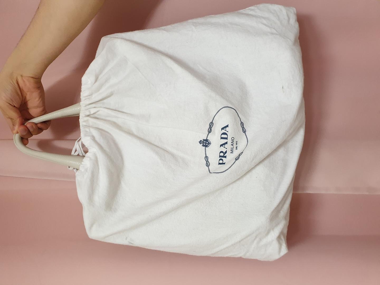 프라다 BN2865 미란다커 백 숄더백 토트백 귀한 아이보리색