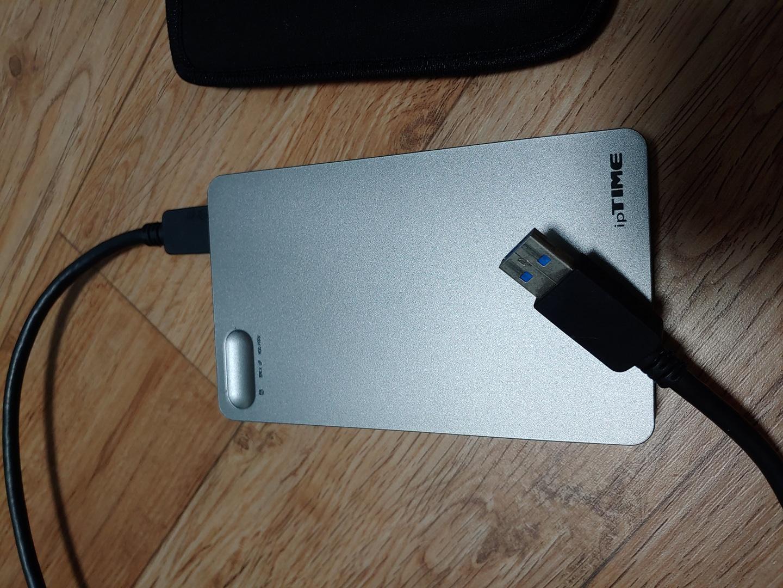 2.5인치 외장하드 750G USB 3.0