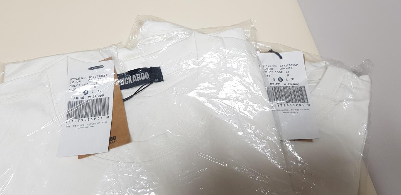 버카루 반팔 티셔츠(새제품)