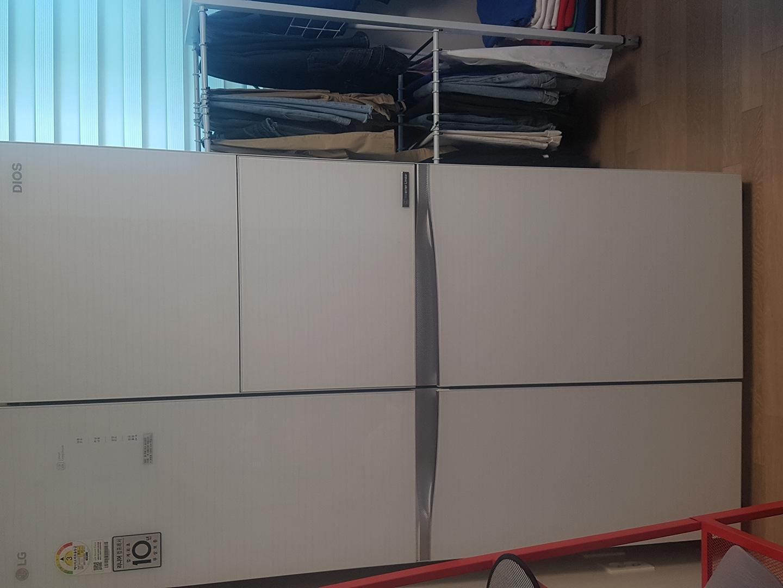 디오스 양문형냉장고