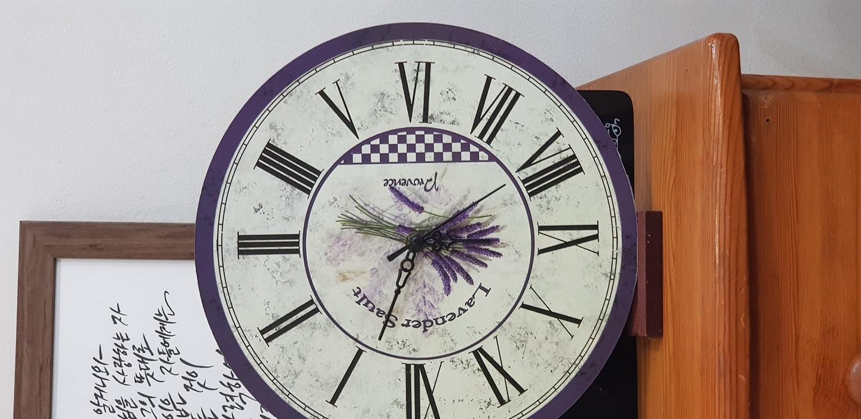 엔틱 시계