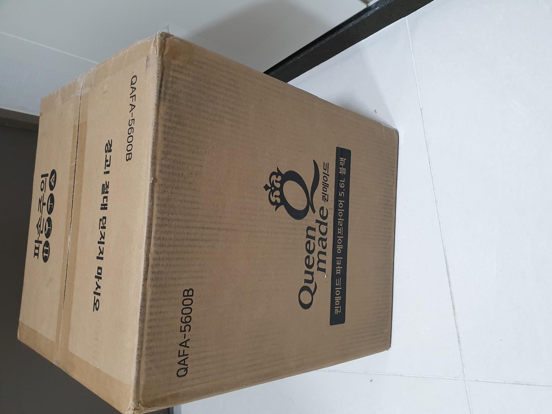 퀸메이드 에어프라이어 5.6L 블랙