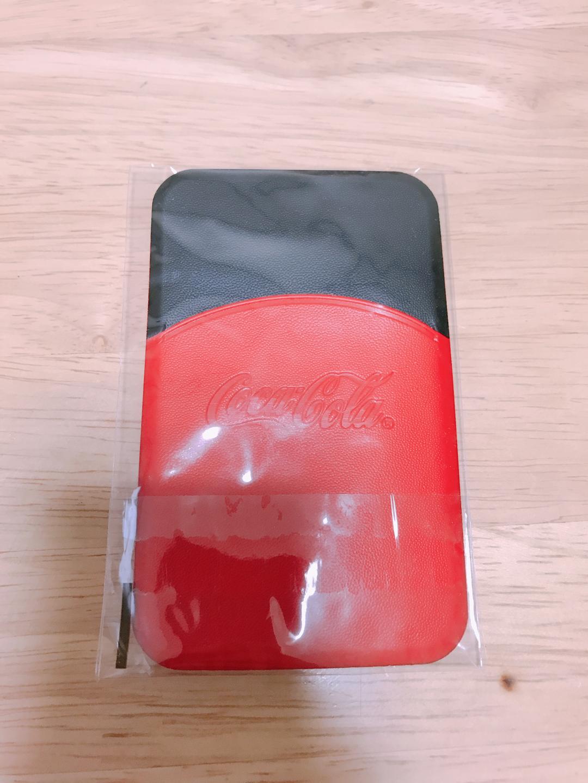 코카콜라 콜라보 카드지갑