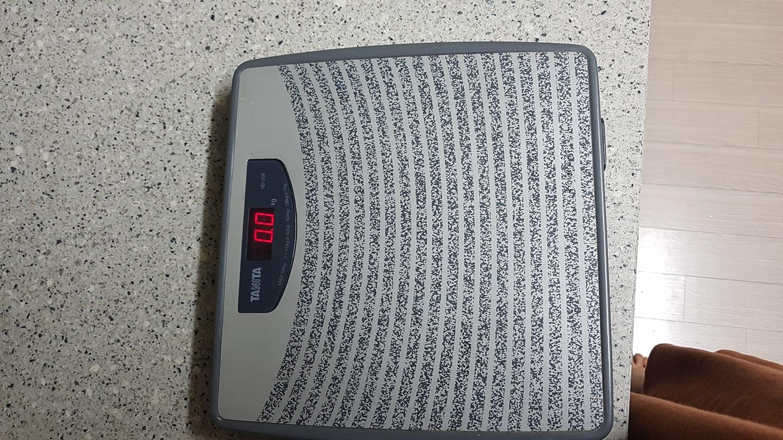 타니타 전자 체중계