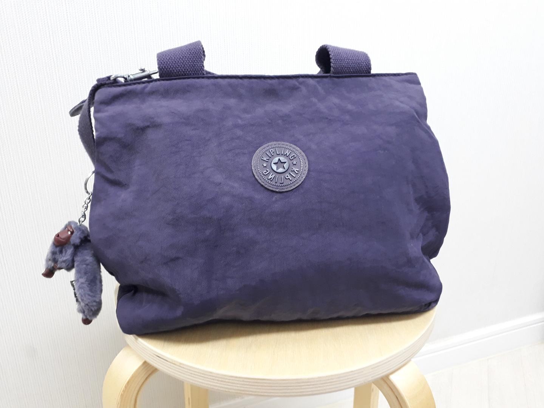 키플링 보라색 가방