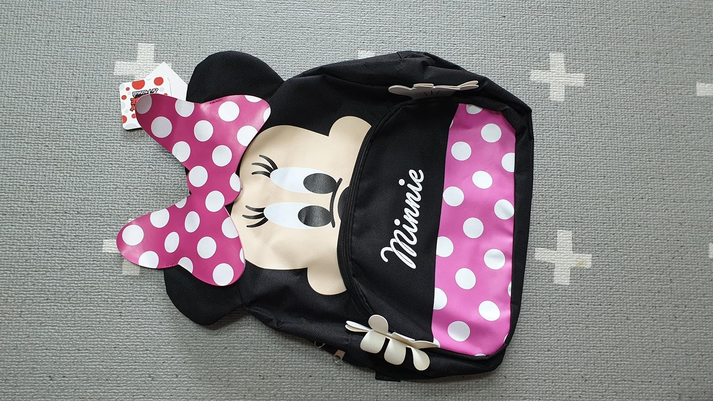 새상품 미니마우스책가방 텍달린 제품