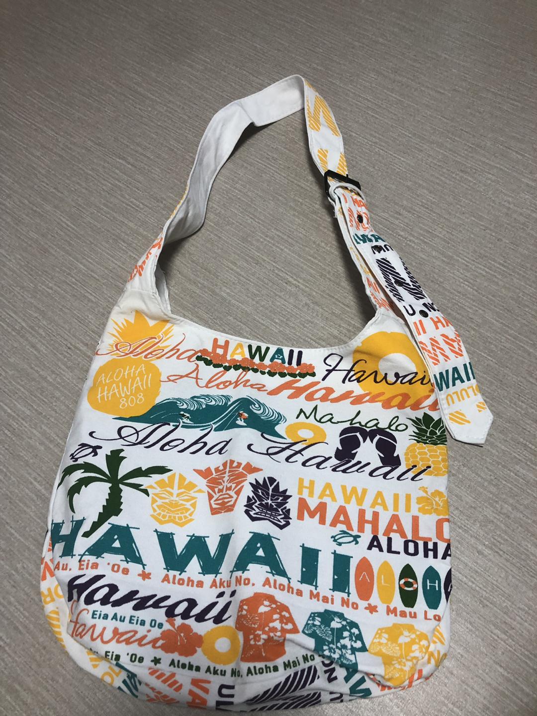 하와이 캔버스 크로스 가방(현지구매)-새상품