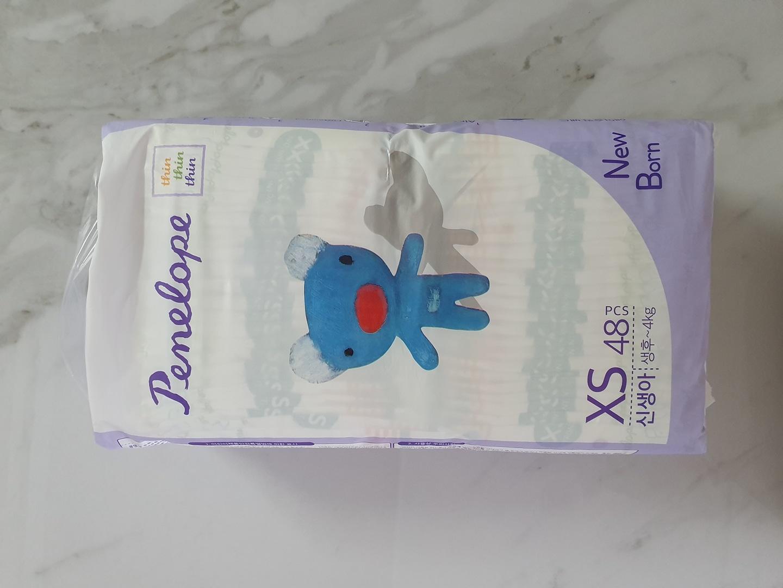 신생아기저귀 페넬로페 씬씬씬 밴드 XS 48 1팩