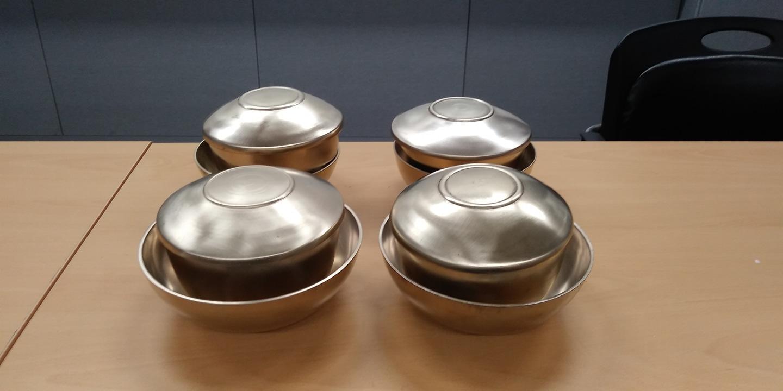 유기밥,국그릇세트