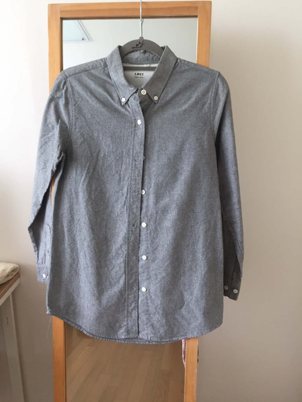 진회색 면 셔츠 마지막 가격인하!