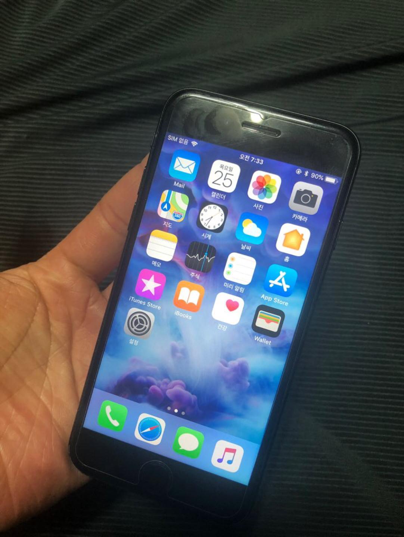 아이폰7 매트블랙 128기가