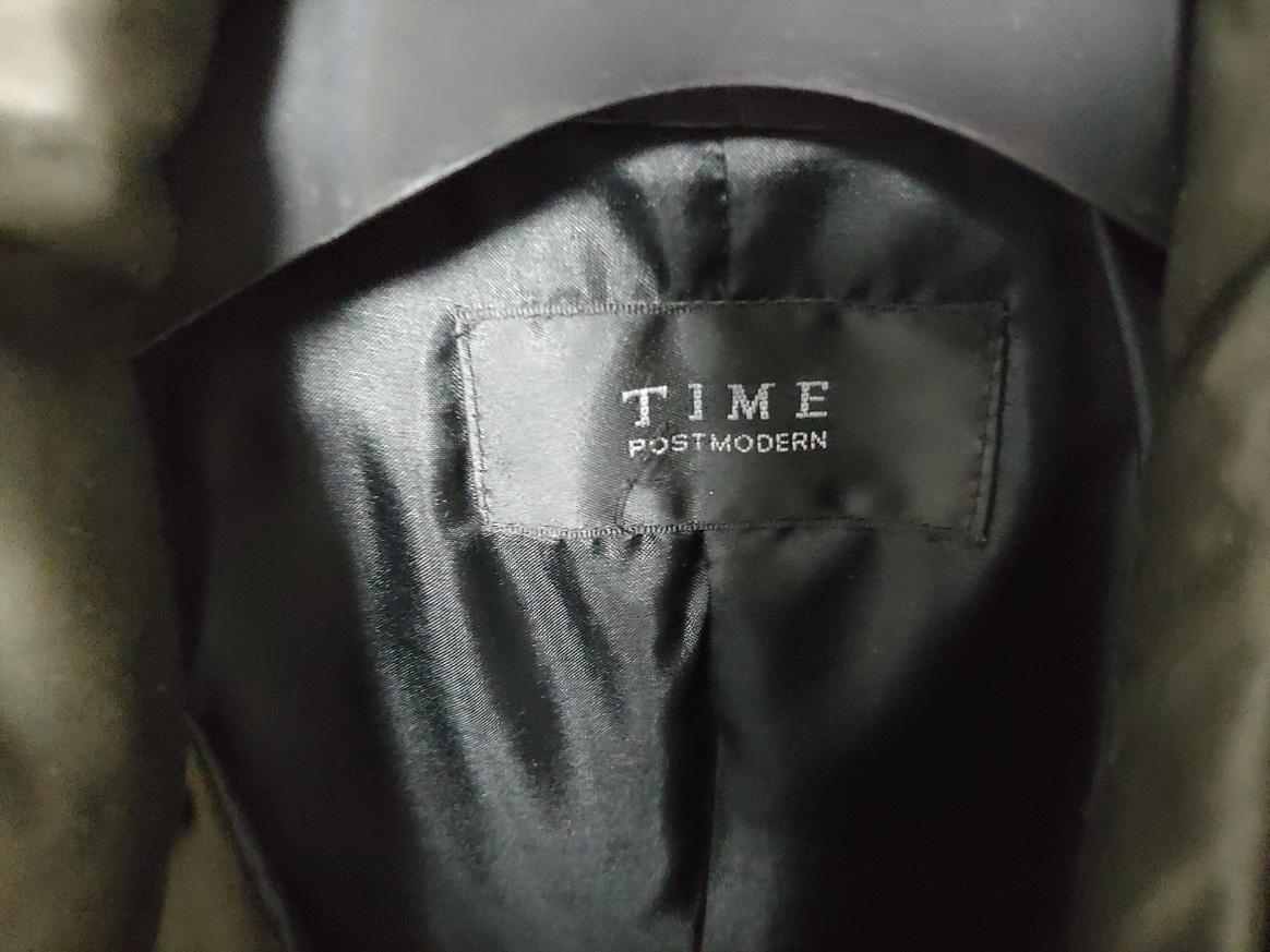 타임 오리털자켓