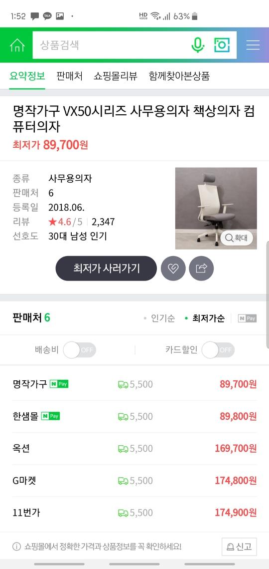 책상가구(화이트) 판매♡